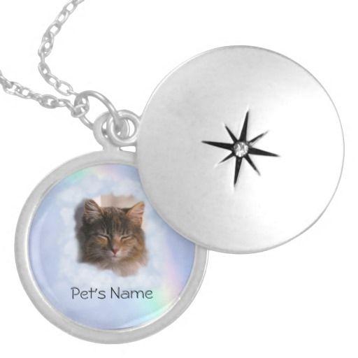 Pet Memory (insert photo  name) Pendant