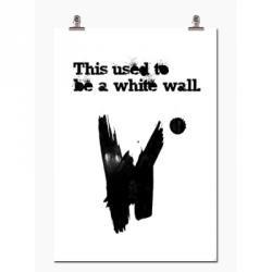 White Wall, 70x100 från Wallstuff – Köp online på Rum21.se