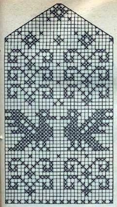 .Mitten colour pattern - dragon/bird hybrid
