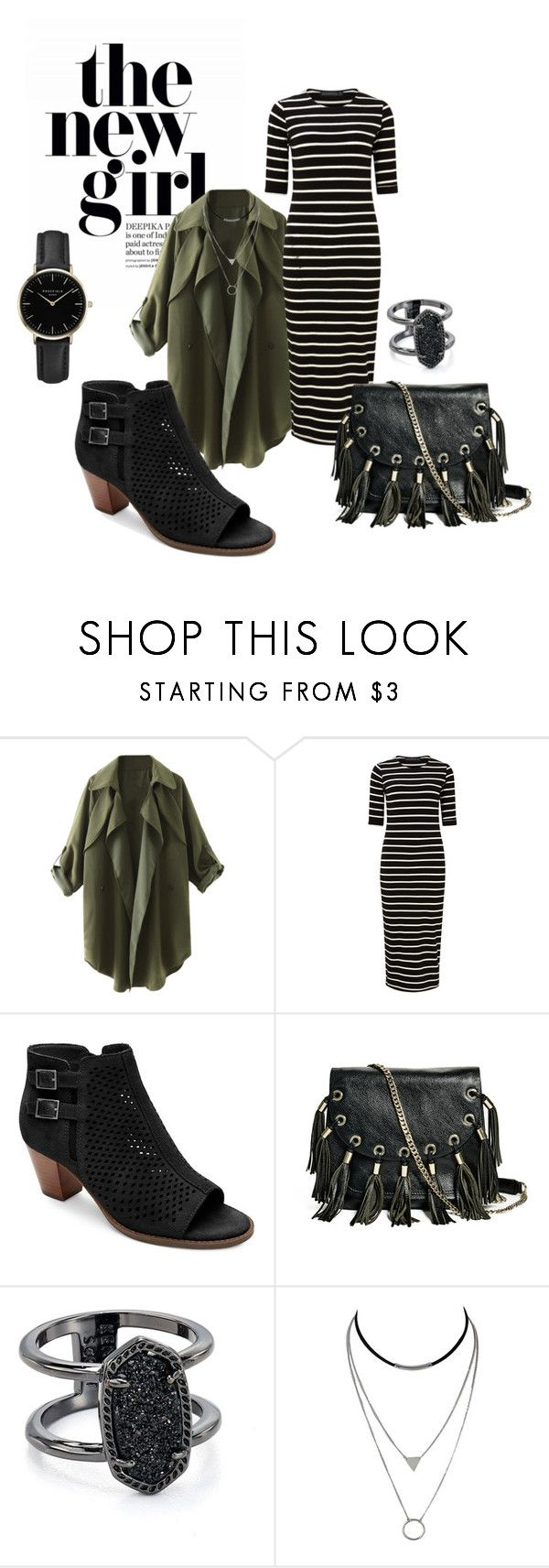 """""""On Trend Look"""" by katy-atchison on Polyvore featuring Sugarhill Boutique, Vionic, GUESS by Marciano, Kendra Scott and ROSEFIELD"""
