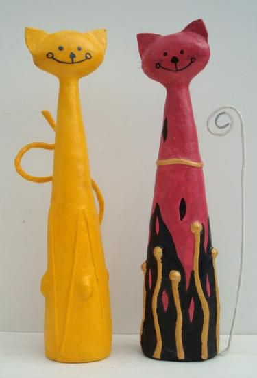 """Davina and Persephone Cats"" by David Osborne"