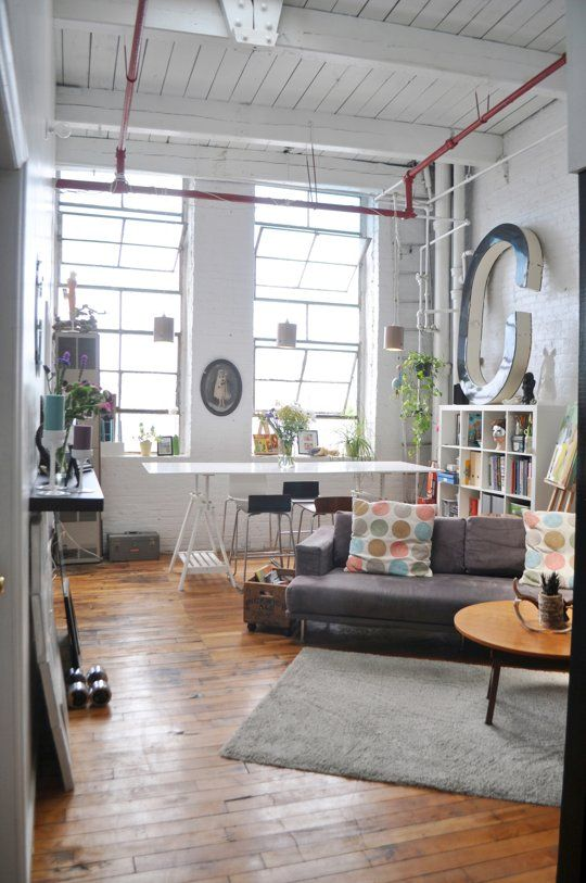 Ryan S Artist Loft In Bushwick House Tours High