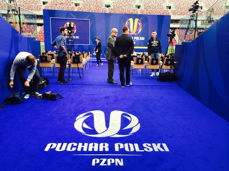 Losowanie Pucharu Polski 14.08.2014 Stadion Narodowy w Warszawie.