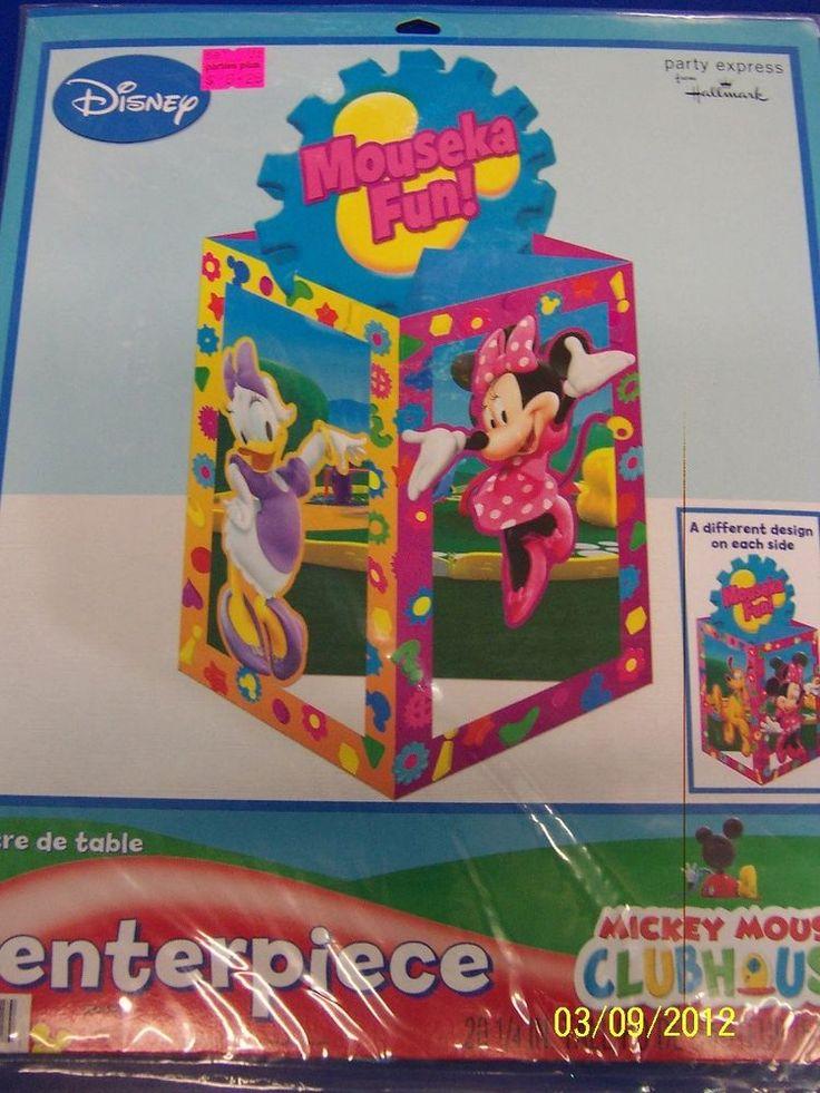 Minnie's Clubhouse Minnie Mouse Disney Birthday Party Decoration Centerpiece #Hallmark