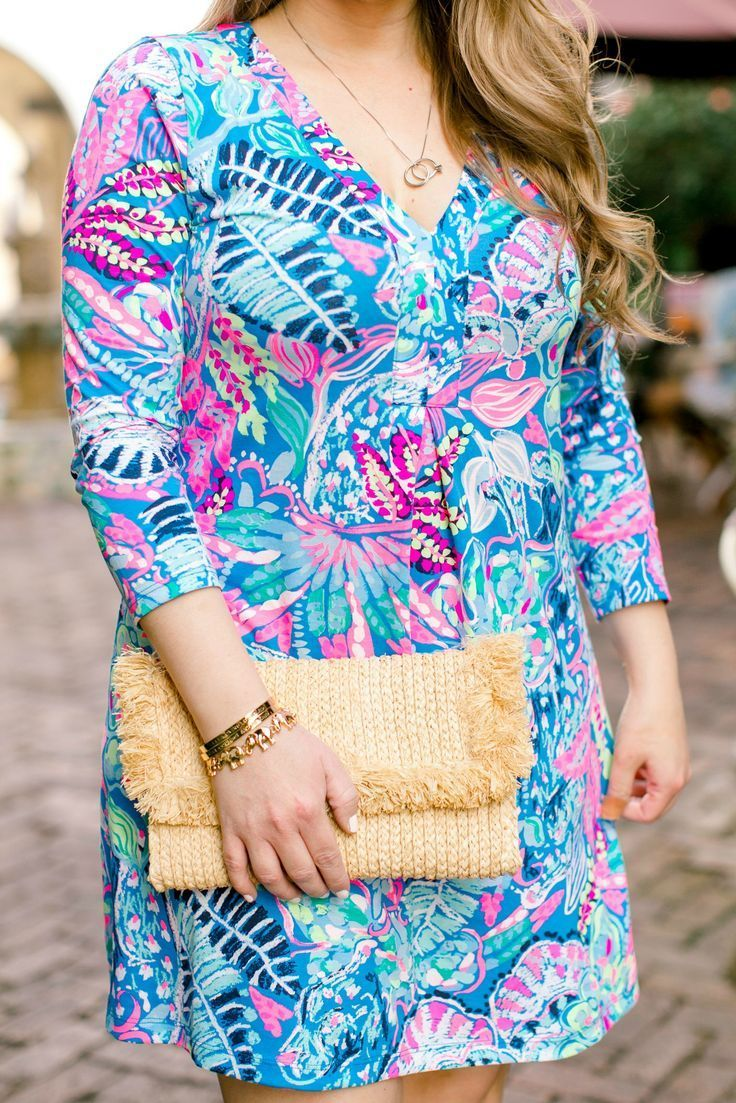 d08b30adbfe LOVE the Lilly Pulitzer Amina Dress! Such a great vacation outfit idea for  summer!