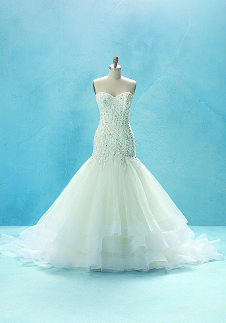 60 best disney inspired dresses images on pinterest for Cinderella inspired wedding dress