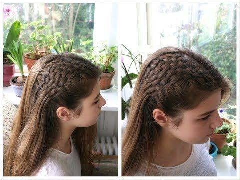 How to do the Pull Through/Scissor Waterfall Braid - HairAndNailsInspiration - YouTube