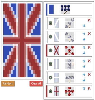 как сделать разноцветный флаг в майнкрафте