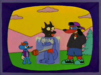 New trending GIF on Giphy. the simpsons season 8 leaving died poochie itchy and scratchy and poochie show. Follow Me CooliPhone6Case on Twitter Facebook Google Instagram LinkedIn Blogger Tumblr Youtube