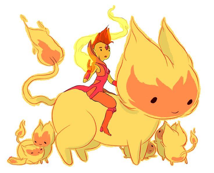 Adventure Time: Flame Princes Drawing     Natasha Allegri