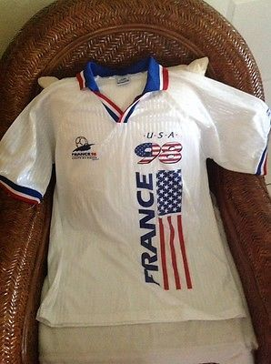 rare vintage 1998 wold cup USA soccer jersey size S/M Men's