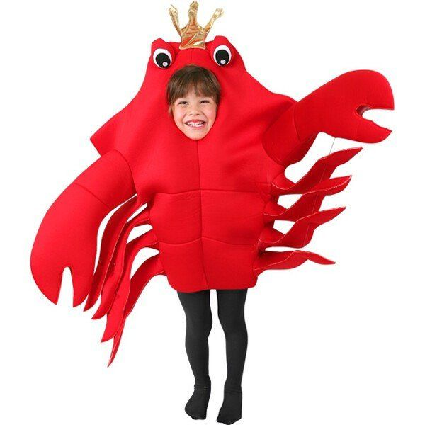 Our Kid's King Crab Costume is the ideal Sea Animal Costume for any child. For a fun family or group Sebastian Crab costume idea consider any of our Crab Costumes for any age group. - Fabric over foam