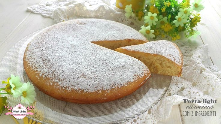 Ciao a tutti! Rieccomi con una nuova ricetta light per voi, è una torta velocissima, che potrete trasformare tranquillamente in muffin o in un plumcake. E'