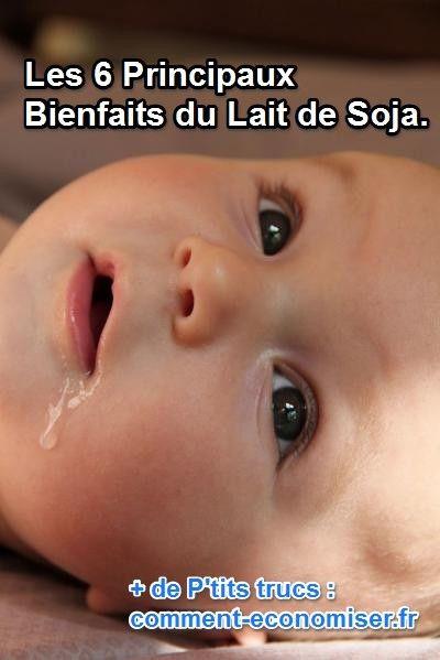 Le lait de soja, comme tout autre lait, a ses vertus et ses bienfaits.  Découvrez l'astuce ici : http://www.comment-economiser.fr/bienfaits-lait-soja.html?utm_content=buffer31d9d&utm_medium=social&utm_source=pinterest.com&utm_campaign=buffer