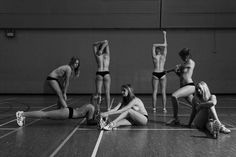 university of birmingham netball team charity calender. pictures courtesy of michael jevon photography