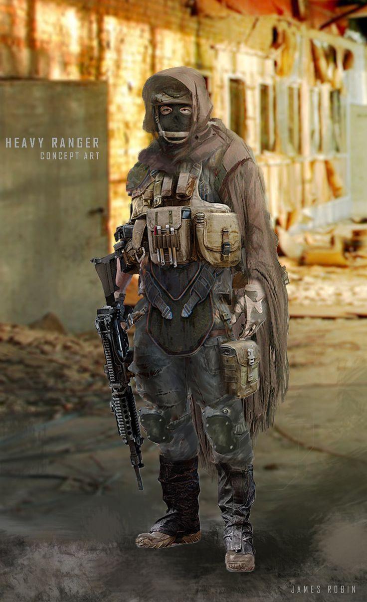 Heavy Ranger_concept by jamesdesign1.deviantart.com on ...