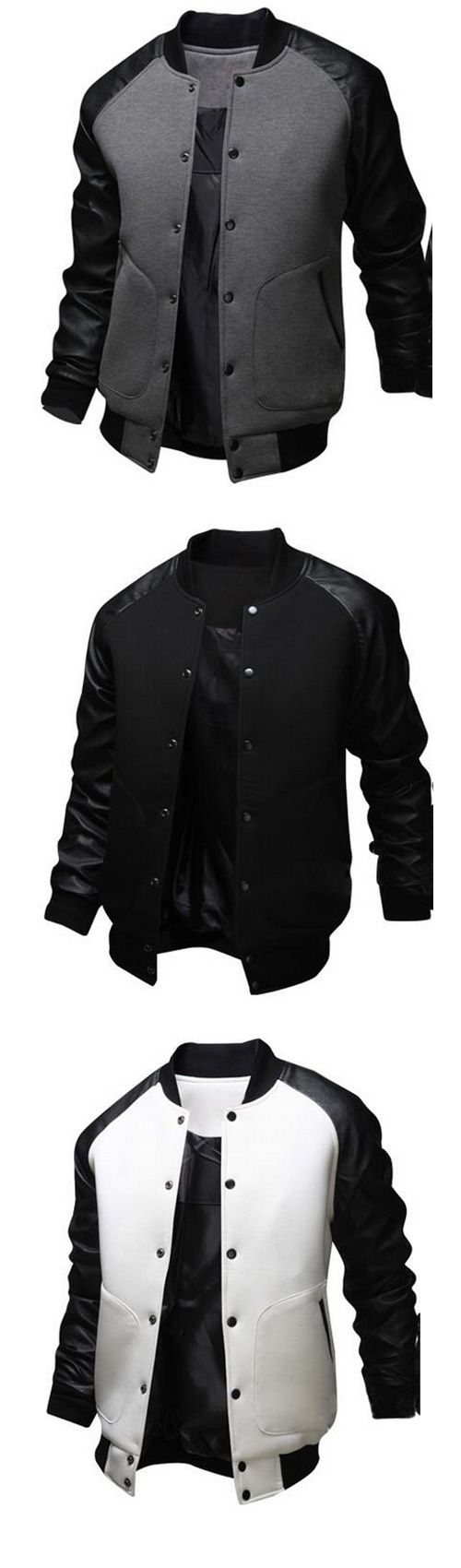 312 Best Men Style Images On Pinterest Wear Mens Clothing Andrew Smith Pu Bomber Jacket Hitam M Active Cotton Patchwork