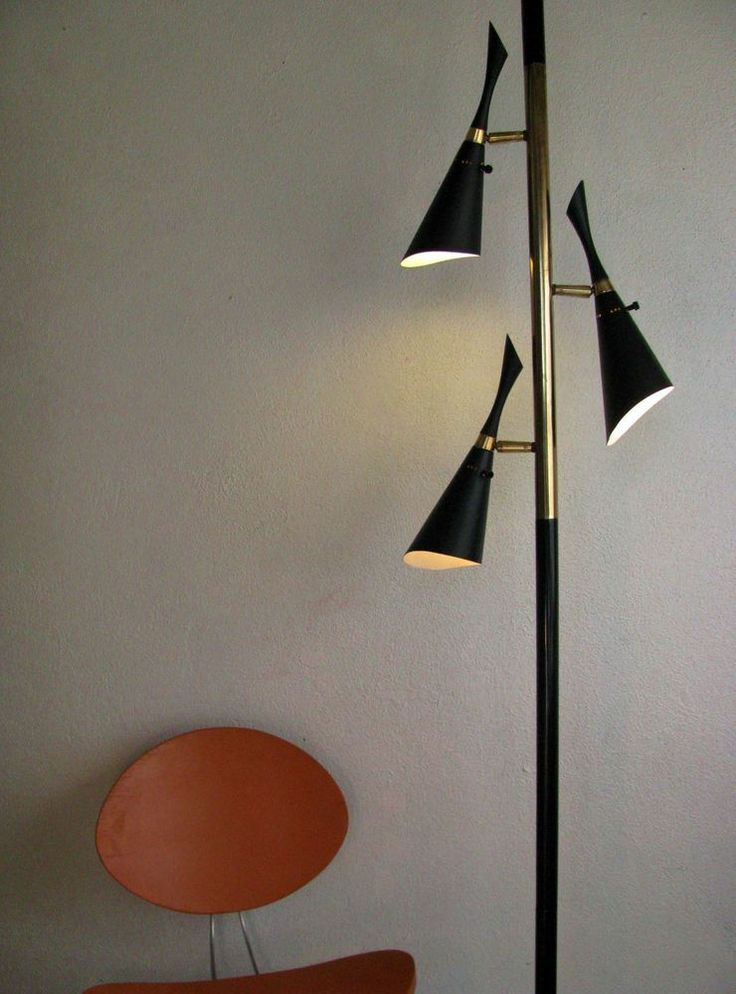 1000 images about mcm tension pole lamps on pinterest. Black Bedroom Furniture Sets. Home Design Ideas