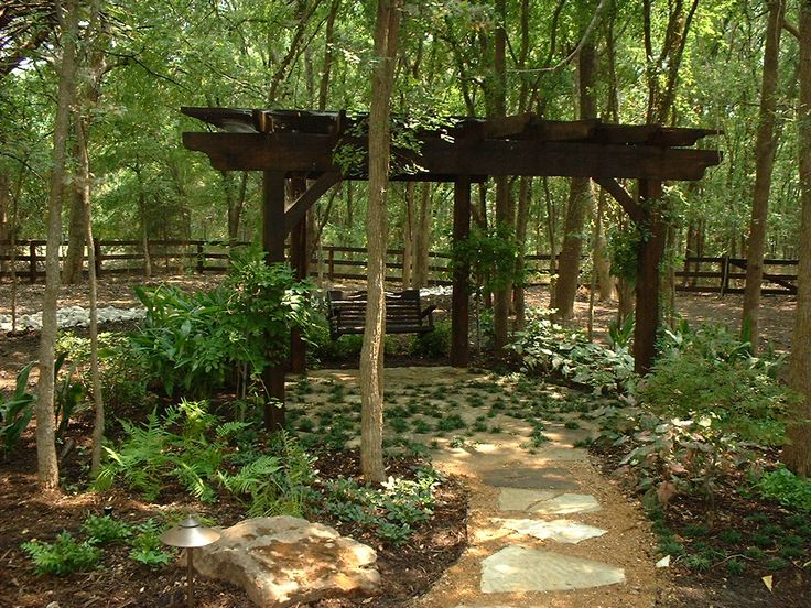 Wooded Yard Landscape Ideas Gardening Flower And Vegetables