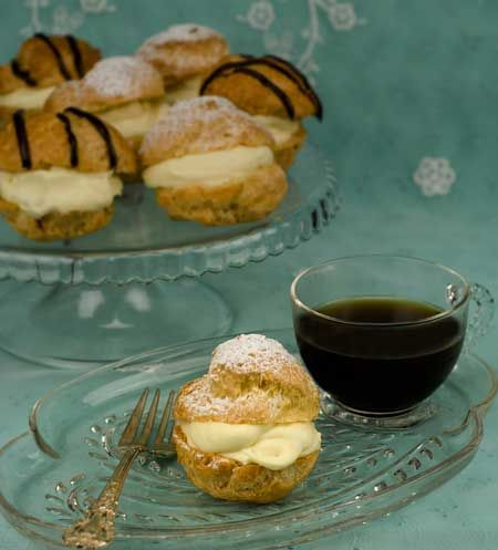 """Gluten-Free Dairy-Free Cream Puffs   """"going to need taste testers for this one. """""""