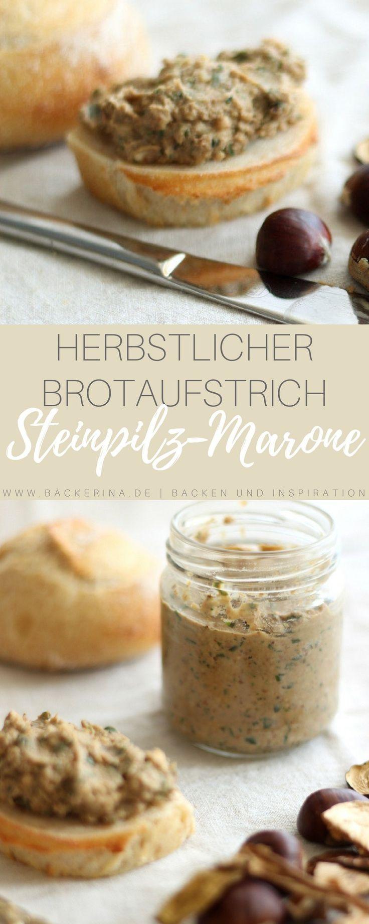 Raffiniertes Rezept für einen selbst gemachten Maronenaufstrich mit feinen Steinpilzen. Ein toller Begleiter für Brot, aber auch lecker als Soße zu Fleisch.