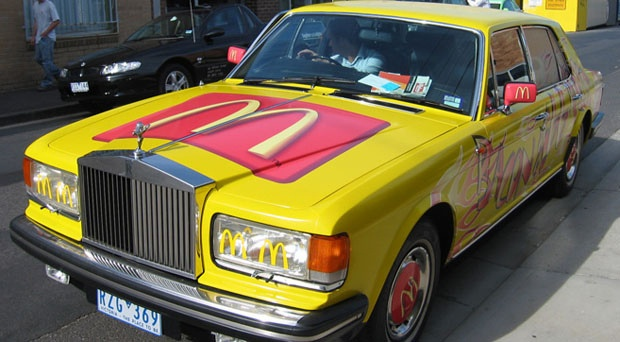 Only Maccas, Rolls Royce, Vehicle Wrap, AutoSkin