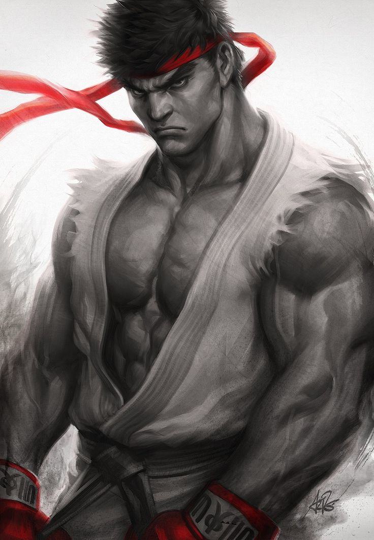 Street Fighter - Ryu by Artgerm | Stanley Lau *