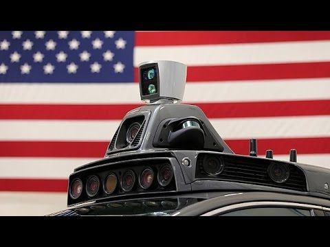Obama to give green light for self-driving cars on US Highways - YouTube