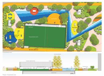 спортивная зона. Всемирный торговый центр 1 имеет 69 этажей, всевозможные рестораны и уютные кафе.