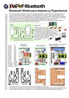 Paperbluetooth: A Bluetooth Shield for Arduino