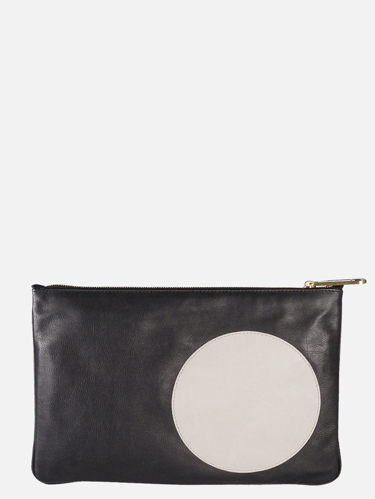 Jil Sander Dot clutch