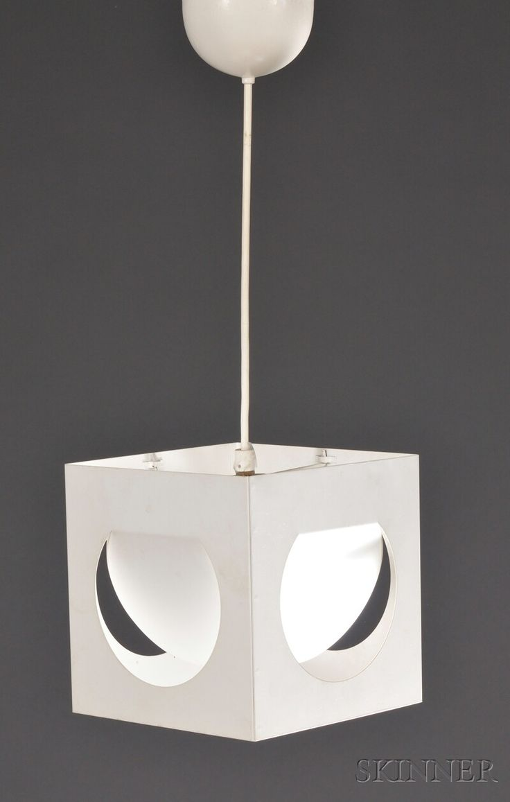 Lisa Johansson-Pape Hanging Light by Orno  Metal and plastic  1950s