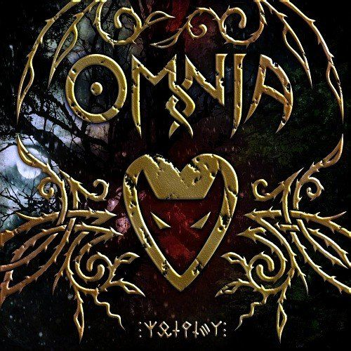 Omnia means love I can't remember what language it's from but yeh that's it's meaning in English ... And I love the eery feeling this picture gives its enchanting some how..