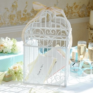 Birdcage Wedding Reception Card HolderIdeas, Birds Cages, Gift Tables, Gift Cards Holders, Greeting Cards, Wedding Reception, Cards Boxes, Birdcages Cards Holders, Wedding Cards Holders