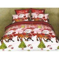 Lenjerii de pat copii Rudolph si Mosul