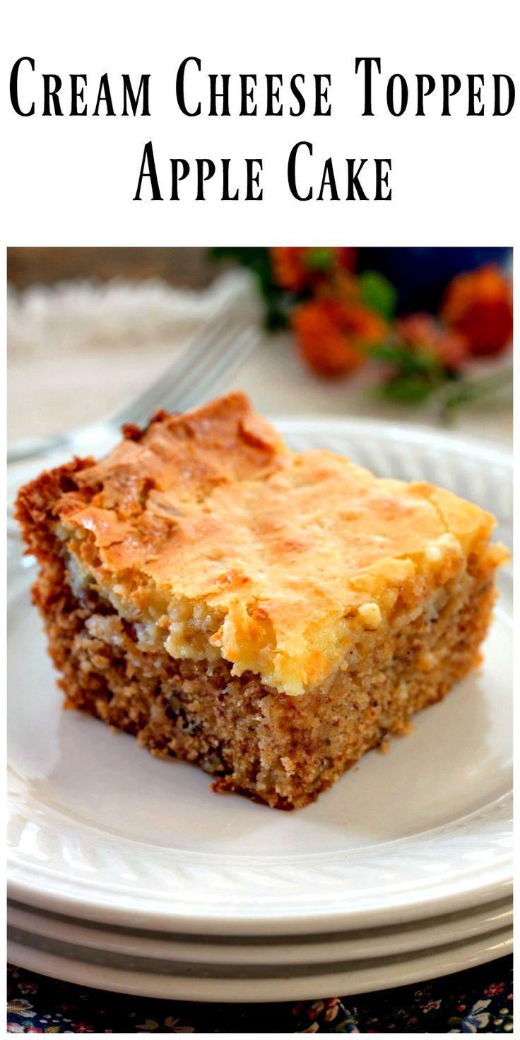 Easy Moist Delicious Apple Sheet Cake