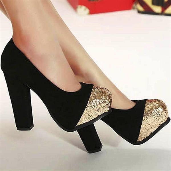 Самая дешовоя и красивая зимняя обувь на среднем каблуке