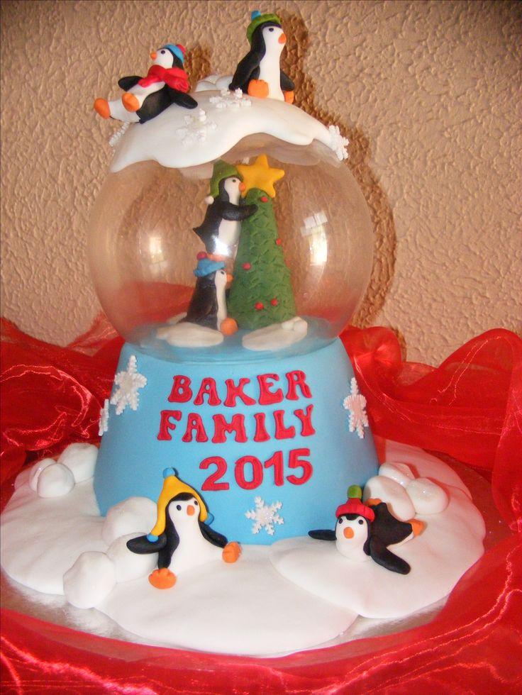 Our 2015 Christmas Cake