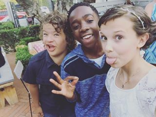 """But they're actually the best of friends IRL too. 