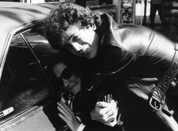 Lou Reed and Maureen Tucker