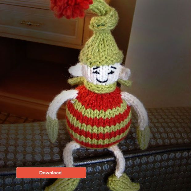 Elf Knitting Hearts : Images about free knitting patterns on pinterest