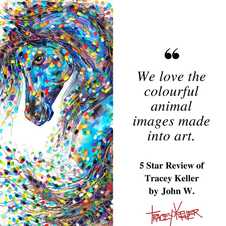 John, thanks for your loving the animals... and the art!    #traceykeller #animalart