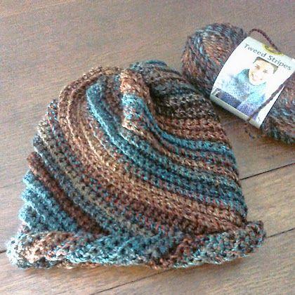 Swirl Hat - Free Crochet Pattern
