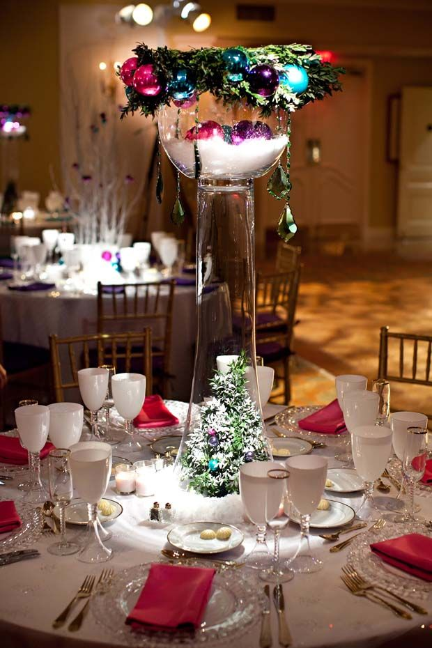 Unique Holiday Centerpieces : Best winter tablescape images on pinterest flower