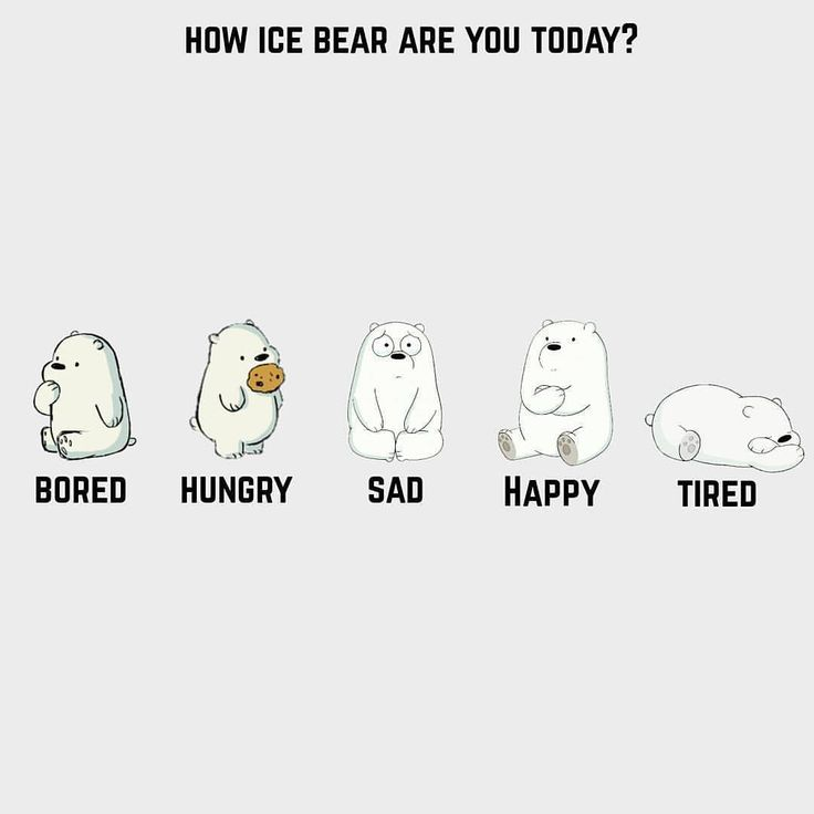 "393 Likes, 17 Comments - We Bare Bears (@officialwebarebears) on Instagram: ""Repost from @webarebears.official  #webarebears #icebear #mood"""