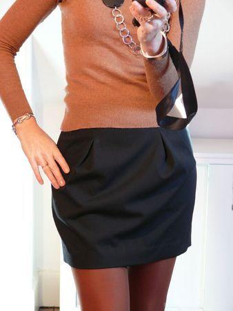 Petite jupe noire
