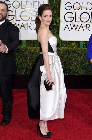 Tina Fey Photos: Arrivals at the Golden Globe Awards