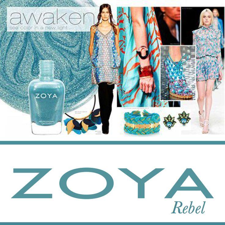 Zoya Awaken Rebel  #zoyaoje #tırnak #nail #fashion #nailcolors #nailart #moda #shoes #bags #dress #zoyaturkiye #jewerly #kadın #style #jacket #skirt #bag #küpe #ayakkabı #elbise