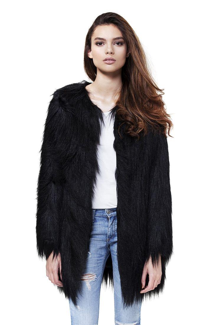 Wanderlust Coat by Unreal Fur
