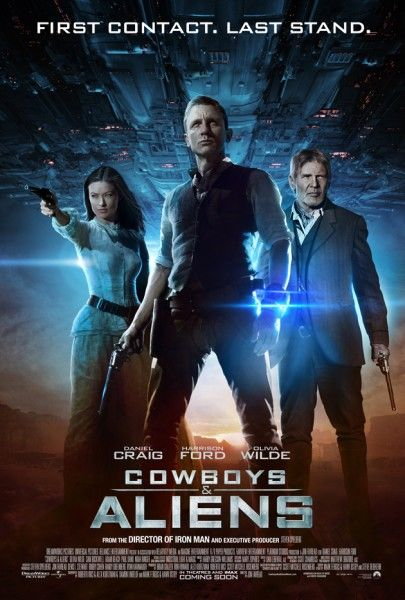 Cowboys vs Aliens... she just looks amazing... and he does too... just to spend some time with a story...